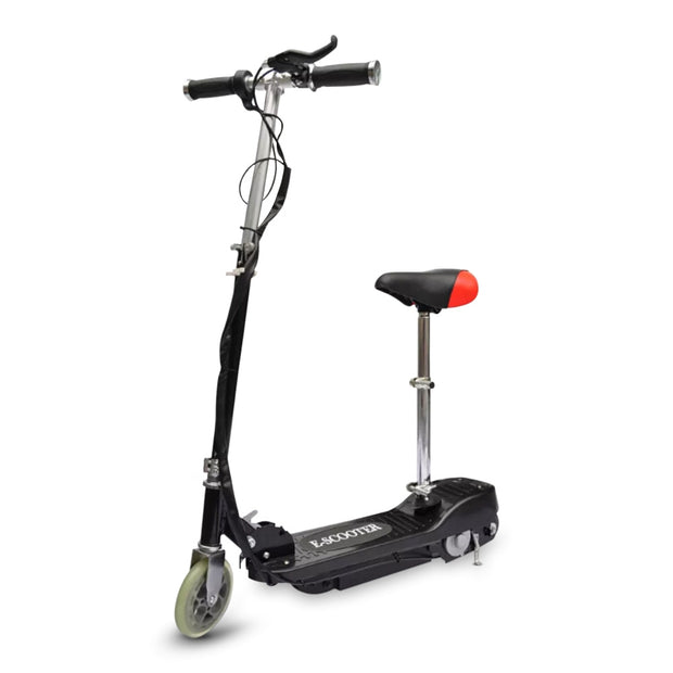 Electric Scooter 120W Max Weight 50kg Motorized Bike with Seat - Roshyshine