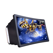 Screen Magnifier for Cell Phone, 3D HD mobile Movie Video Amplifier - Roshyshine