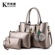 Women Leather handbag, Ladies fashion handbags, Women Messenger shoulder bags