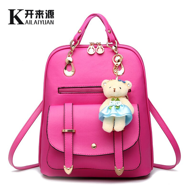 Women Genuine leather backpack 2020 New Backpack spring and summer new students large size women bag