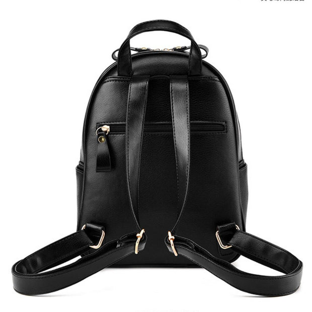 100% Genuine leather Women backpack 2019 New shoulder bag new students fashionable Korean Korean female package