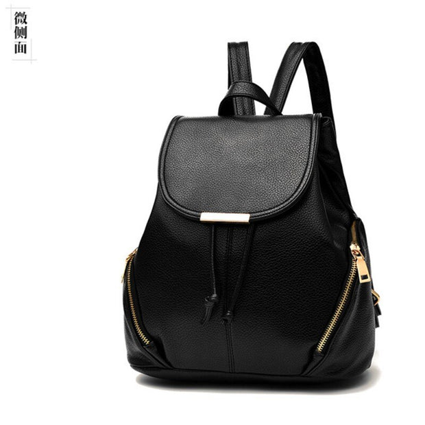 100% Genuine leather Women backpack 2019 New tide women's backpack spring and summer new students fashion casual Korean bag