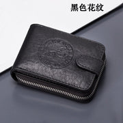Men Leather Card Wallet, Business Bank Card Holder, Thin Credit Card Case Convenient Small Cards Pack