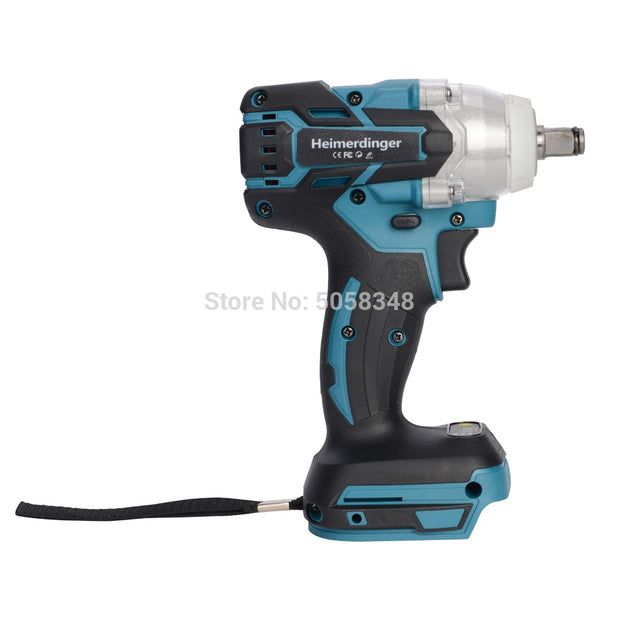 Electric Rechargeable Brushless Impact Wrench Cordless without Battery&accessories
