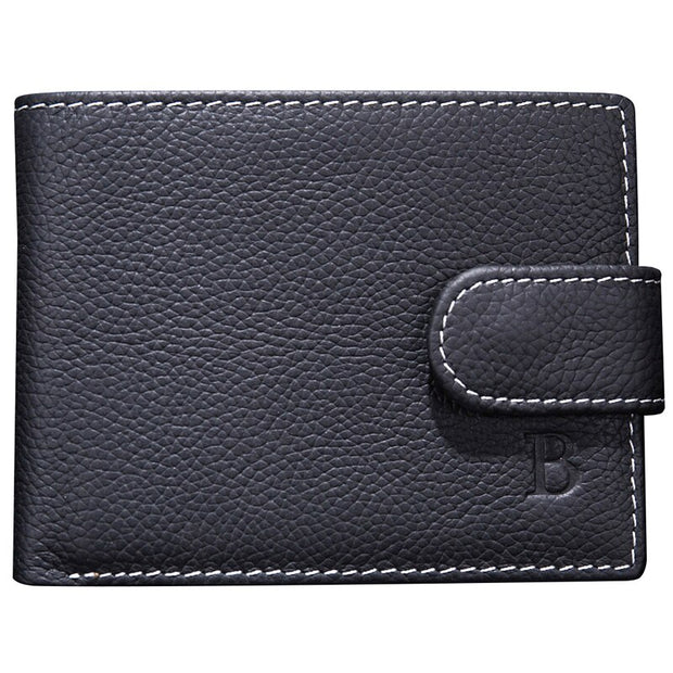 Fashion New Coin bag PU leather Wallet male purse clutch bag men's wallet coin purse male card holder short men Clutch Wallets (Black)