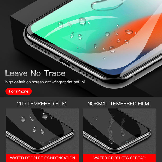 Suntaiho 10D protective glass for iPhone X XS 6 6S 7 8 plus glass screen protector for iPhone 11 Pro MAX XR X screen protection - Roshyshine