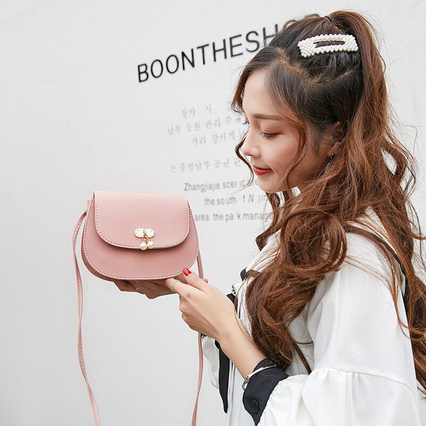 2019 Girl's Small Sling Shoulder Handbags Women Mini Shell Bag Lady Crossbody Messenger Mobile Phone Pack for Teenage Girls Kids