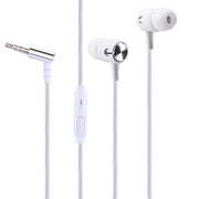 1.2 M Universal 3.5mm In-Ear Stereo Earbud  Cell Phone PC Earphone Headset with Mic In-ear design keeps noise out fone de ouvido