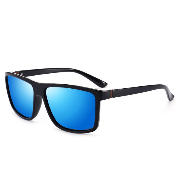 Polarized Sunglasses For Men, Women Square Brand Designer Polaroid Retro Sunglasses UV400 Mirror Eyewear Male