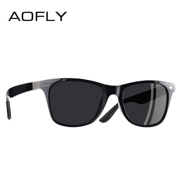 AOFLY NEW DESIGN Ultralight TR90 Polarized Sunglasses Men Women Driving Square Style Sun Glasses Male Goggle UV400 Gafas De Sol - Roshyshine