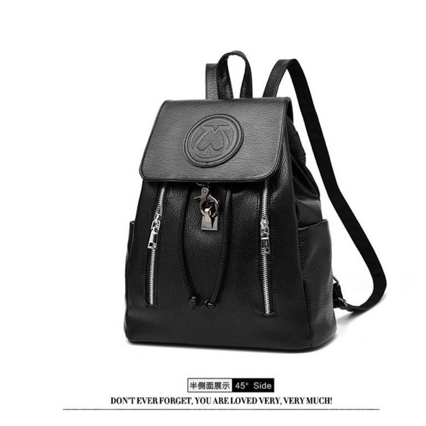 100% Genuine leather Women backpack 2019 New female backpack spring and summer fashion casual Korean embossed