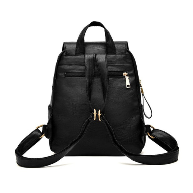 100% Genuine leather Women backpack 2019 New Female backpack spring and summer student fashion casual Korean version of the