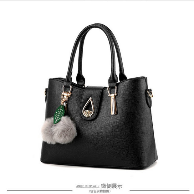 100% Genuine leather Women handbag 2019 New Europe atmospheric stereotypes fashion handbags Messenger shoulder bag