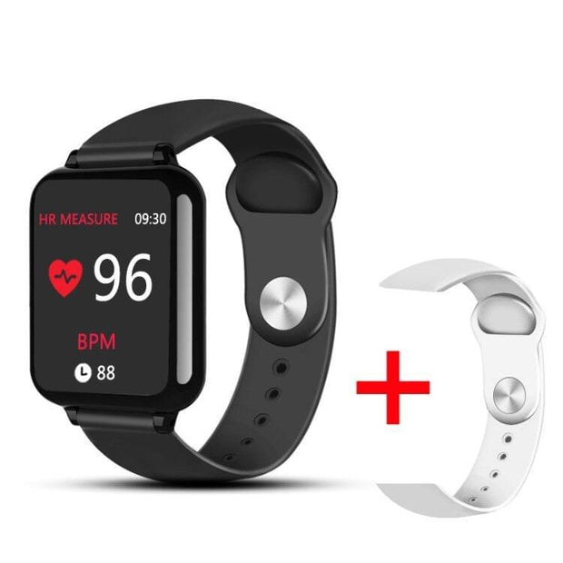 B57 Smart watches Waterproof Sports for iphone phone Smartwatch Heart Rate Monitor Blood Pressure Functions For Women men kid - Roshyshine
