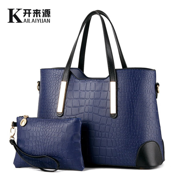 Women Leather  handbags, female bag, and Women Messenger shoulder bag, Satchel Shoulder Tote Bags Wallets