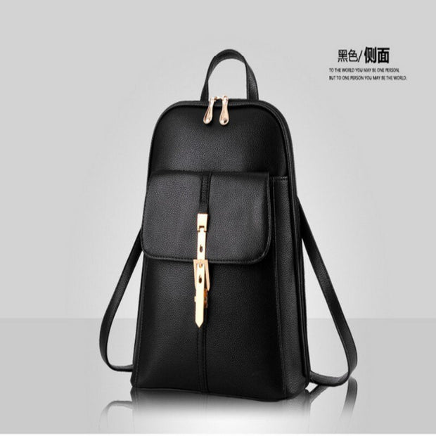 100% Genuine leather Women backpack 2019 New wave of female students backpack spring and summer fashion casual Korean bag