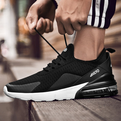 Men Casual Shoes Spring Autumn Breathable Sneakers Men Air Cushion Mesh Sports Shoes Trend Trainers Men Shoes Big Size