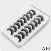 SEXYSHEEP 4/8 pairs 3D Mink Lashes Natural False Eyelashes Dramatic Volume Fake Lashes Makeup Eyelash Extension Silk Eyelashes - Roshyshine