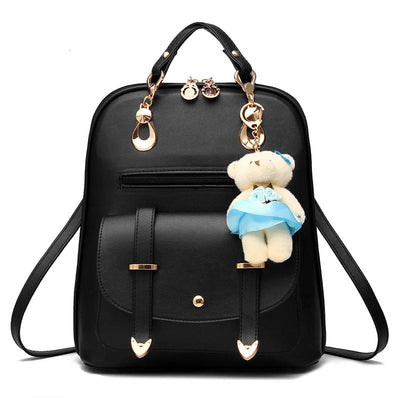 100% Genuine leather Women backpack 2019 New Backpack spring and summer new students large size Korean women bag