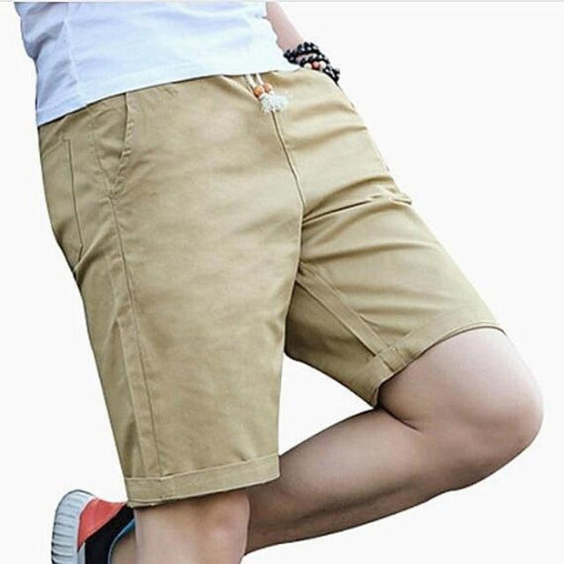 2019 New Shorts Men Hot Sale Casual Beach Shorts Homme Quality Bottoms Elastic Waist Fashion Brand Boardshorts Plus Size 5XL - Roshyshine