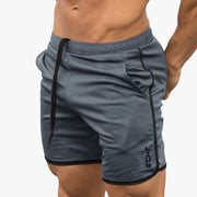 Running Sporty Shorts Mens Casual Short Pants Male Summer Breathable Mesh Cool Bermuda Gyms Fitness Bodybuilding Beach Shorts - Roshyshine