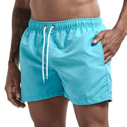 Pocket Swimming Shorts For Men Swimwear Man Swimsuit Swim Trunks Summer Bathing Beach Wear Surf  beach Short board pants Boxer - Roshyshine
