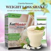 Vanilla Flavours Fat Blaster Milk Shake To DETOX Flat Tummy Natural Weight Lose Supplement cream - Roshyshine