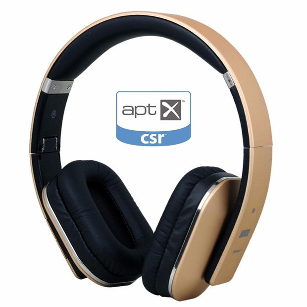 August EP650 Wireless Bluetooth Headphones with Microphone 3.5mm Audio In Wired or Wireless Stereo Headset for TV, PC - Roshyshine