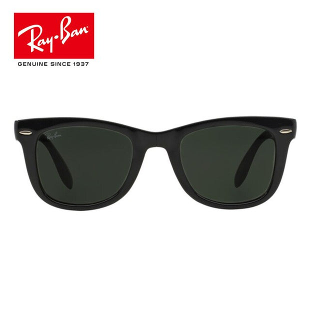 RayBan RB4105 Wayfarer Black Outdoor Glasses Eyewear For Men/Women with Retro 4105 UV Protection - Roshyshine