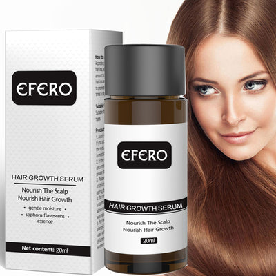 Powerful Hair Growth Serum Prevent Hair Loss Essential Oil Longer Thicker Growth Prevent Baldness Products Professional Hair Grow - Roshyshine