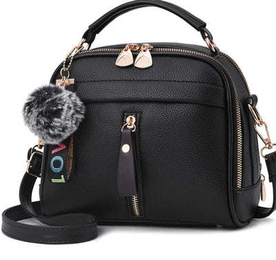 Women Leather handbags New lady sweet lady fashion handbags slung shoulder bag Lady Exquisite Crossbody bag - Roshyshine