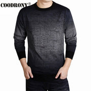 COODRONY Cashmere Sweater Men Brand Clothing Mens Sweaters Print Casual Shirt Autumn Wool Pullover Men O-Neck Pull Homme Top 613 - Roshyshine