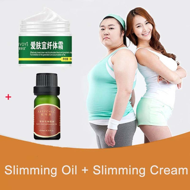 Slimming Essential Oil Body Shaping Fat Burning Weight Loss Products Thin Waist Leg Stomach Oils For Slimming Lose Weight - Roshyshine