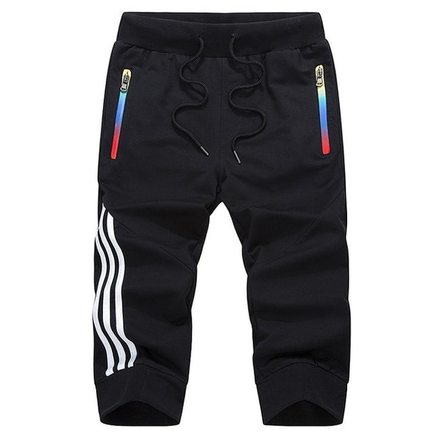 LBL Summer Casual Shorts Men Striped Men's Sportswear Short Sweatpants Jogger Breathable Trousers Boardshorts Man Drop Shipping - Roshyshine