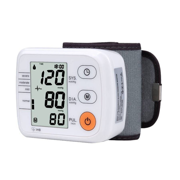 Wrist Blood Pressure Monitor Automatic Digital Tonometer Meter for Measuring Blood Pressure And Pulse Rate - Roshyshine