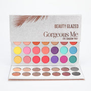 BEAUTY GLAZED 63 Colors Eye Shadow Pallete Long Lasting Matte Shimmer Glitter Pigment Easy to Wear Eyes Makeup Charming Palette - Roshyshine