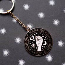 Load image into Gallery viewer, Midnight Hard Enamel Keychain