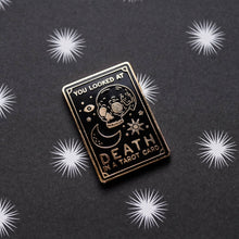 Load image into Gallery viewer, Tarot Card Hard Enamel Pin