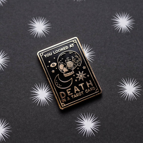 Tarot Card Hard Enamel Pin