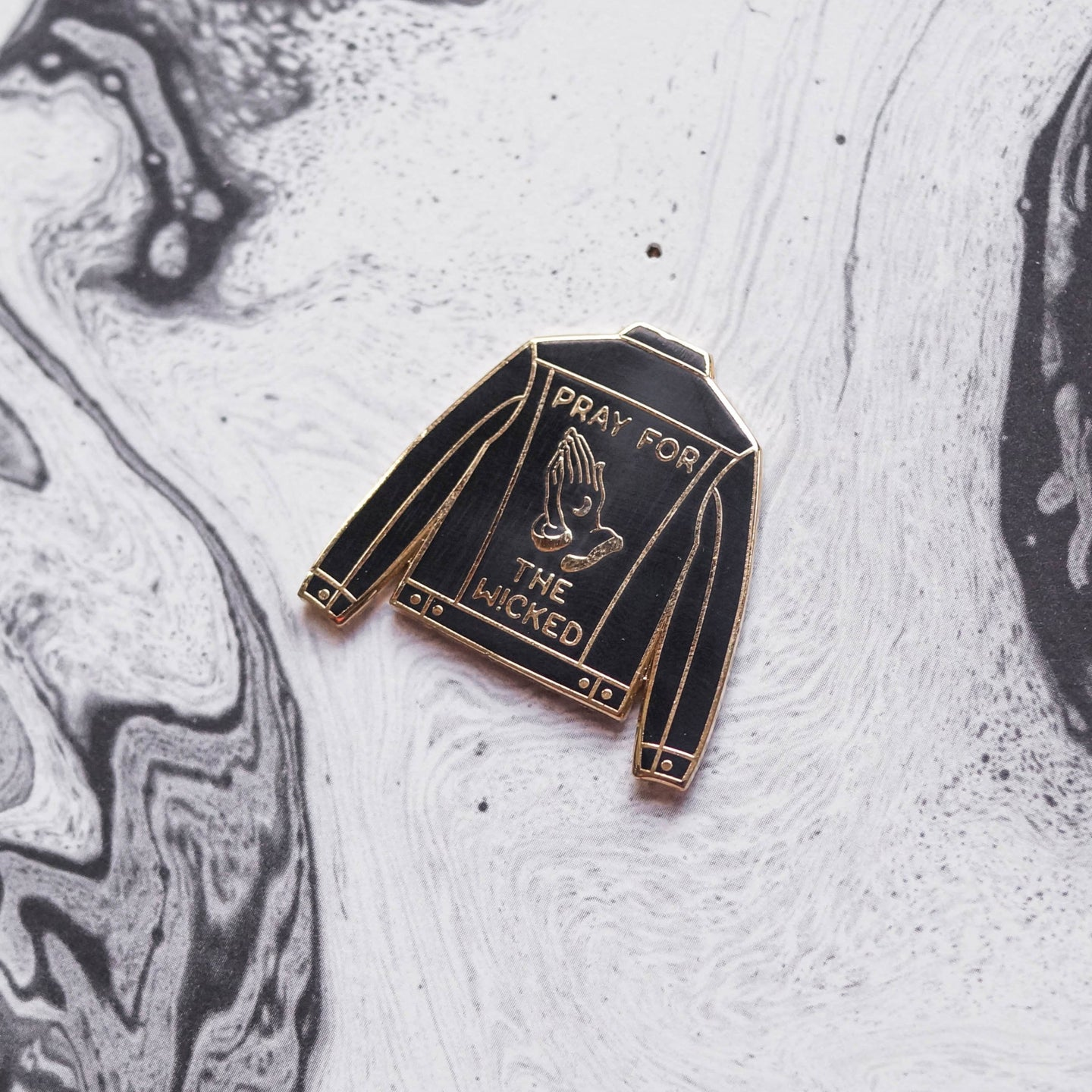Wicked Jacket Hard Enamel Pin