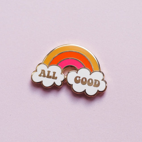 All Good Hard Enamel Pin