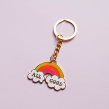 Load image into Gallery viewer, All Good Hard Enamel Keychain