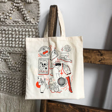 Load image into Gallery viewer, Tattoo Flash Sheet Tote Bag