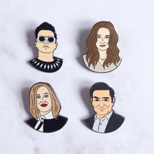 Load image into Gallery viewer, Schitt's Creek Moira Rose Hard Enamel Pin