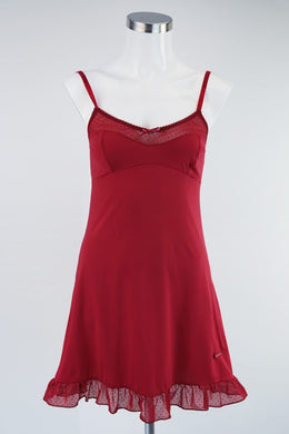 US POLO ASSN NIGHTIE SET - Burgundy