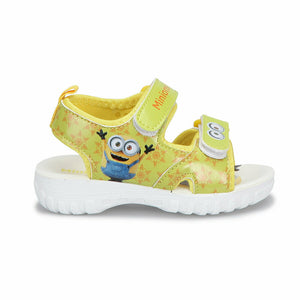 Yellow Unisex Kids' Sandals
