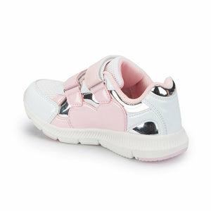 Girl's Athletic White Shoes