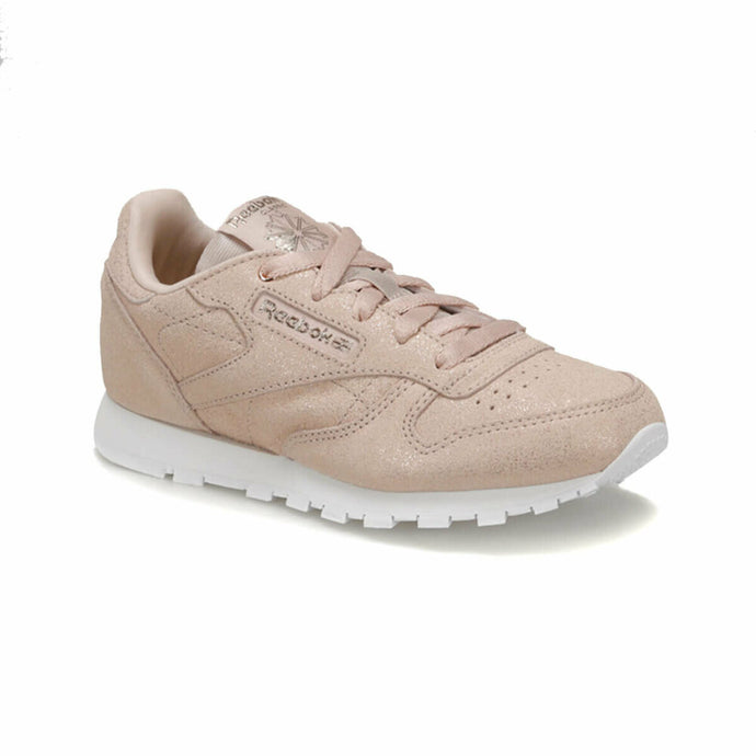 Girl's Beige White Running Shoes