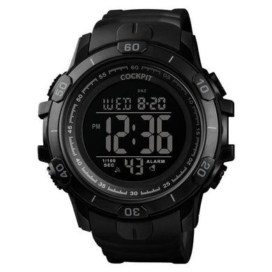 Men's Black Sport Watch