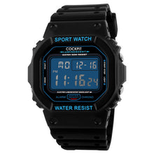Load image into Gallery viewer, Men's Black Digital Watch